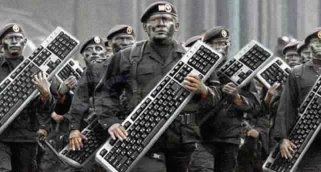 الجيش الإلكتروني العربي - مصر - علي الشرفاء